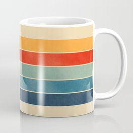 retro stripes Coffee Mug