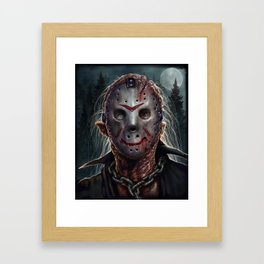 Jason - Friday the 13th Framed Art Print