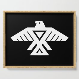 Thunderbird flag Serving Tray