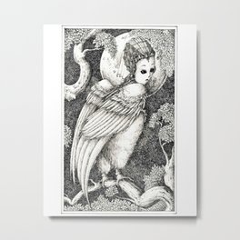 Harpy 3 Metal Print