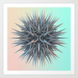 Vapourware Polyhedron Art Print