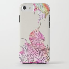 Watercolor Pattern iPhone Case