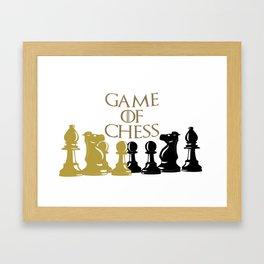 Juguemos ajedrez Framed Art Print