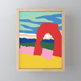 Arches Framed Mini Art Print