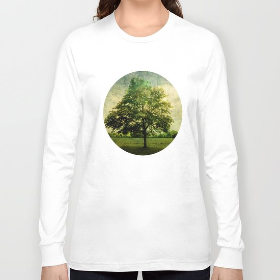 The Textured Tree  Long Sleeve T-shirt