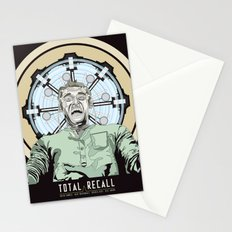Total Recall - Arnold Schwarzenegger Flavour Stationery Cards