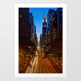 42nd Street Art Print