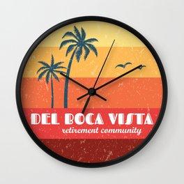 Del Boca Vista Wall Clock