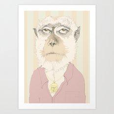 mono gitano Art Print