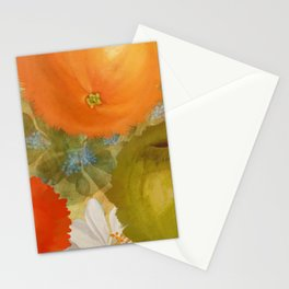 Abstract Fruits Stationery Cards