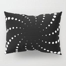 monochrome spiral Pillow Sham