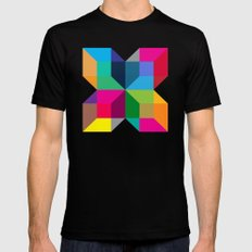 The Intersection SMALL Black Mens Fitted Tee