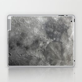 craters on the moon Laptop & iPad Skin