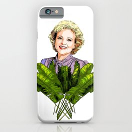 Rose the Golden Girl iPhone Case