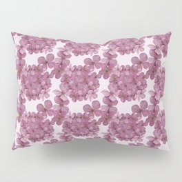 Hydrangea Pink Pillow Sham