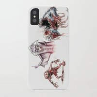 muppets iPhone & iPod Cases featuring Horror Muppets by The Art of Austen Mengler