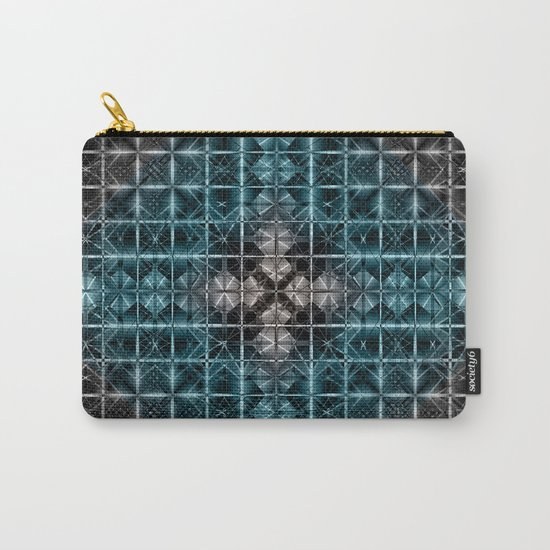 Abstract geometric BG Carry-All Pouch