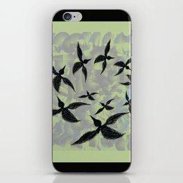 Circling Birds   iPhone Skin