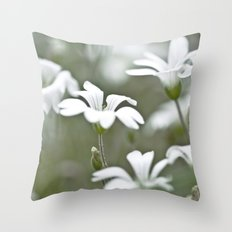 Stitchwort. Throw Pillow