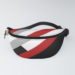 Diagonal stripes pattern Fanny Pack