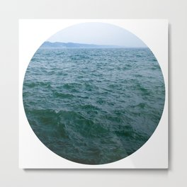Nautical Porthole Study No.1 Metal Print
