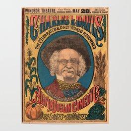 Vaudeville Poster Poster