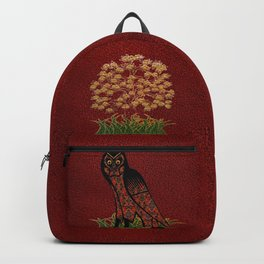 Owl Tapestry Backpack