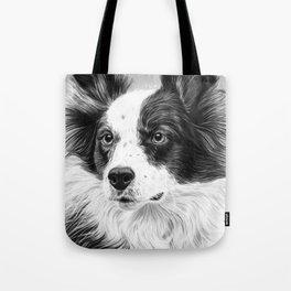 Dog Portrait 02 Tote Bag