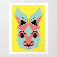 Rabbit Magic Art Print