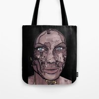 occult Tote Bags featuring The occult by Joseph Walrave