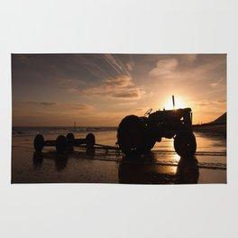 Sunrise on Cromer Beach Rug