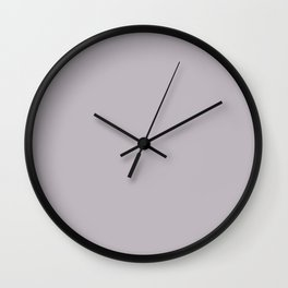 Behr Paint Standing Ovation Light Purple N570-2 Trending Color 2019 - Solid Color Wall Clock