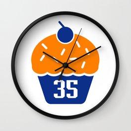 KD Cupcake Wall Clock