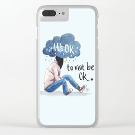 It's Ok (to not be ok) Clear iPhone Case