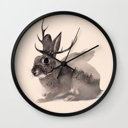 Wolpertinger Wall Clock