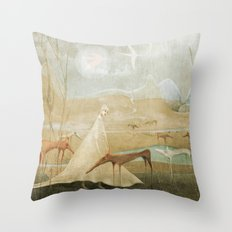 Finding Solace Throw Pillow