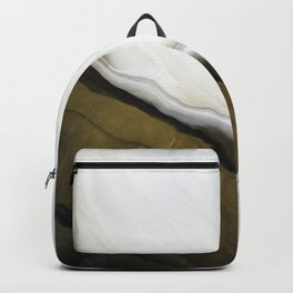 Slice of Heaven - Original Abstract Painting Backpack