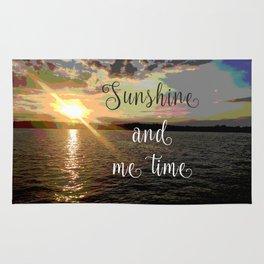 Sunshine and Me Time Rug