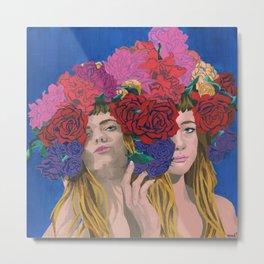 Megan - Florae Series Metal Print