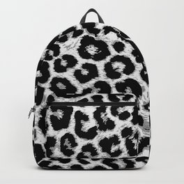 ReAL LeOparD B&W Backpack