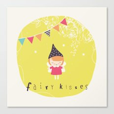 Fairy Kisses Canvas Print