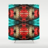 illusion Shower Curtains featuring Illusion by Gun Alfsdotter