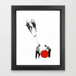 US AND THEM >dedicated to László Moholy-Nagy / 038 Framed Art Print