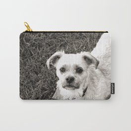 Fudge black and white Carry-All Pouch