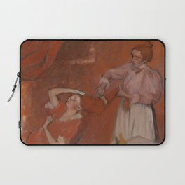 Combing the Hair Laptop Sleeve