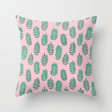 Pattern Project #42 / Ferns Throw Pillow
