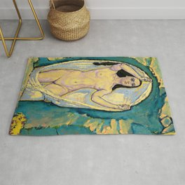 "Koloman (Kolo) Moser ""Venus in the Grotto"" Rug"