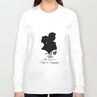 pride and prejudice Long Sleeve T-shirts featuring Pride and Prejudice by Clarc