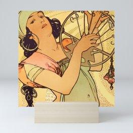 "Alphonse Mucha ""Salomé"" Mini Art Print"