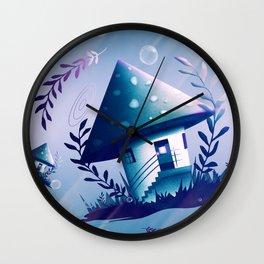 Magic Mush Room - Pattern Wall Clock